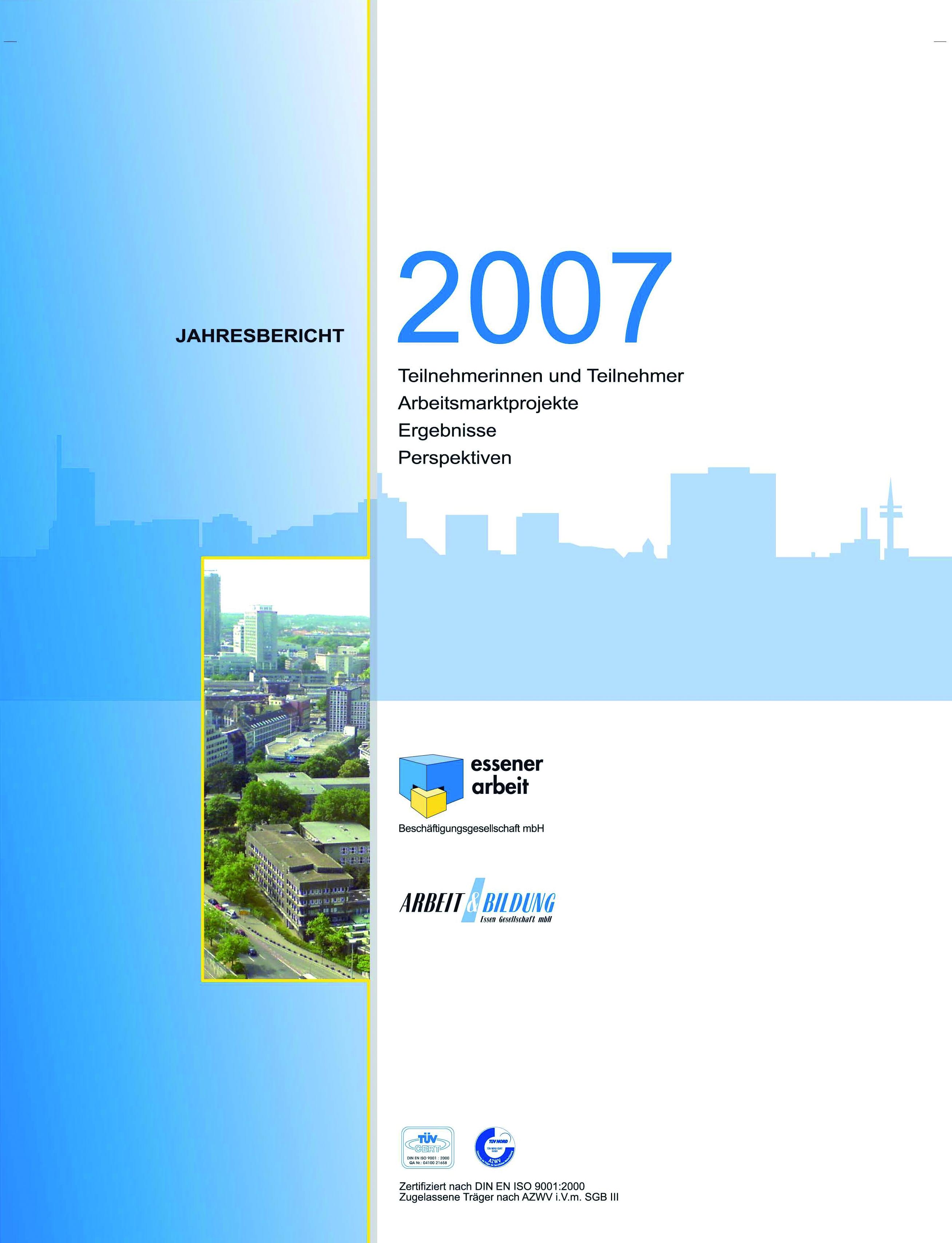 Deckblatt 2007